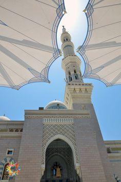 Prophet's mosque, Medina, Saudi Arabia