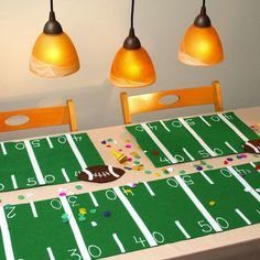 iLovetoCreate® Tabletop Touchdowns #craft #football