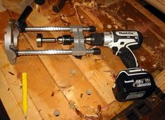 Timber Frame Tools » Auger Mortising Machine?