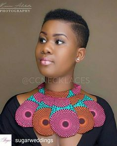 Look at this Trendy womens african fashion Short Natural Haircuts, Natural Hair Cuts, Natural Hair Styles, Short Hair Styles, African Attire, African Wear, African Women, African Dress, African Style