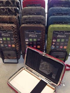 Metropolitan Carry-All Wristlet- Holds your phone, cash, ID, credit cards & more.