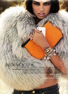 What's Big, Grey and Fluffy? A Must Have Mongolian Faux Fur Coat