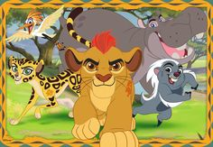 109 Best The Lion Guard Printables Images Lion Animated