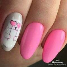 Hey there lovers of nail art! In this post we are going to share with you some Magnificent Nail Art Designs that are going to catch your eye and that you will want to copy for sure. Nail art is gaining more… Read Cat Nail Designs, Manicure Nail Designs, Simple Nail Art Designs, Manicure E Pedicure, Nails Design, Cute Nail Art, Gel Nail Art, Acrylic Nails, Cat Nails