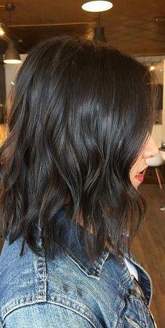 Cortes bob en cabello oscuro | Belleza