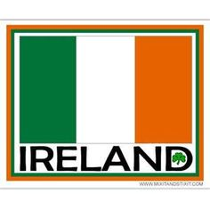 Eire flag give me the Tri colour anyday oh how i love this flag xx Erin Go Braugh, Irish Symbols, Irish Decor, Irish Eyes Are Smiling, Irish Pride, Irish Roots, Irish Blessing, Lucky Day, Bumper Stickers