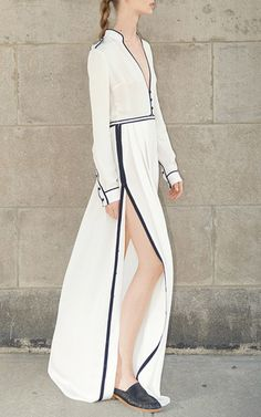 Russel Silk Gown by GABRIELA HEARST for Preorder on Moda Operandi