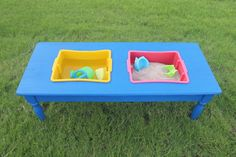 DIY Sand and Water Table Tutorial - Child at Heart Blog