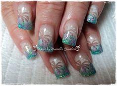 feeling beachy - nailartgallery.nailsmag.com - Nail Art Gallery by NAILS Magazine
