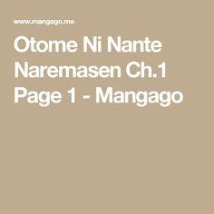 Otome Ni Nante Naremasen Ch.1 Page 1 - Mangago