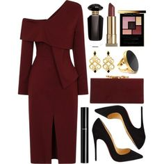 Untitled #4393 by natalyasidunova on Polyvore featuring polyvore, fashion, style, Christian Louboutin, Jimmy Choo, Yossi Harari, Yves Saint Laurent, Kevyn Aucoin, Chanel and Victoria's Secret