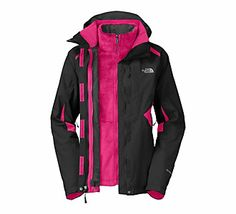 b2a6a9320b Cold weather must-have: Women's The North Face Boundary Triclimate Jacket  Vest Jacket,