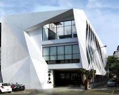 Hongzhu Housing Sales Center in Taiwan by Lab Modus