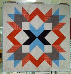 Designer Star Quilt Pattern by MayChappell on Etsy