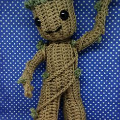 A new Groot for the new guardians of the galaxy film. Gonna make a jumpsuit version too. The crochet pattern will be available for free in the first issue of my new newsletter. Sign up now via the blog to get your copy. Link in bio #crochet #amigurumi #amigurumilove #crochetpattern #amigurumitoy #amigurumianimal #crochetlove #amigurumis #amigurumi #amigurumipattern #amigurumilove #amigurumipattern #guardiansofthegalaxy #guardiansofthegalaxy2 #groot #freecrochetpattern #amigurumibarmy