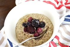 This delicious paleo porridge recipe is perfect for anyone looking for a nice warm porridge in the morning. It is completely grain free and tastes delicious!