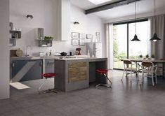 Abbinamenti pavimento grigio - Abbinamento total gray