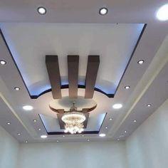 Drawing Room Ceiling Design, Gypsum Ceiling Design, House Ceiling Design, Ceiling Design Living Room, Bedroom False Ceiling Design, House Design, Bedroom Pop Design, Roof Ceiling, False Ceiling Living Room