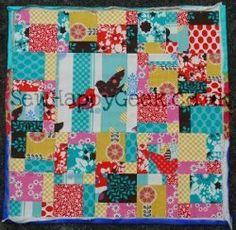 Disappearing Nine Patch Mini Quilt Wall Hanging | FaveQuilts.com