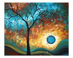 "Love this! It's called ""Aqua Burn"" by Megan Aroon Duncanson"