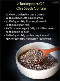 Health Benefits of Chia Seeds Weight Loss Meals, Weight Loss Smoothies, Health Diet, Health And Nutrition, Child Nutrition, Healthy Tips, Healthy Choices, Healthy Lunches, Eating Healthy