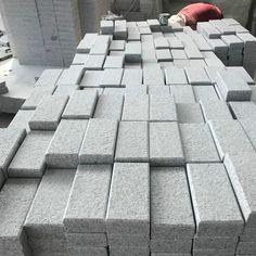 StoneMarkt Cheap Flamed Grey Granite Cube Stone For Paving Poland China Supplier Cobblestone Pavers, Patio Blocks, Driveway Paving, Engineered Stone, Granite, Poland, Natural Stones, Cube, Sidewalk