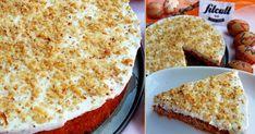 Na Velikonoce by se hodilo i něco zdravějšího. Co takhle chutný dort s tvarohem, jejíž kousek má jen 110 kalorií? Carrot Cake, Stevia, Food Inspiration, Carrots, Fries, French Toast, Food And Drink, Low Carb, Sweets
