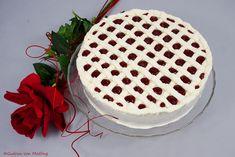 Topfen (Quark) Erdbeertorte - einfach himmlisch :-) Gelatine, Ober Und Unterhitze, Gudrun, Vanilla Cake, Tiramisu, Ethnic Recipes, Desserts, Food, Strawberries