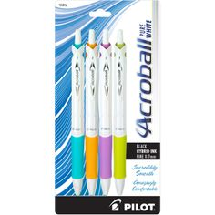 I received the Acroball Pilot Pen complimentary for testing and reviewing purposes from Influenster! #PenItFWD