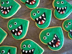 - Dino Sugar Cookies.