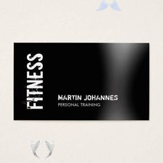 Modern Fitness Personal Trainer Business Card | Zazzle.com | 1000<br> Hiit Workouts For Beginners, At Home Workouts, Morning Workout Motivation, Fitness Motivation, 12 Minute Workout, Lose Arm Fat Fast, Fitness Photography, Business Names, How To Stay Motivated
