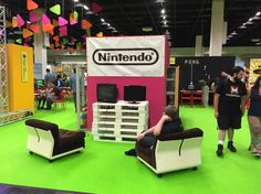 The Nintendo booth at #gamescom2015 is looking really good this year