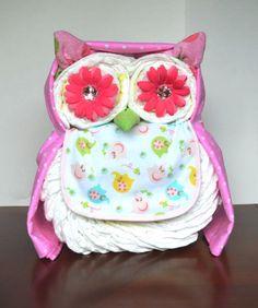 marvelous good baby shower decor ideas 21 owl diaper cake