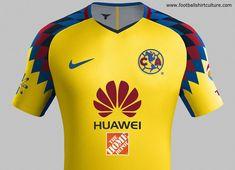 #football #soccer #futbol #ClubAmérica Club América 2018 Nike Third Kit