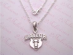 Baylor University Bears Necklace