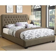 Coaster Chloe Upholstered Headboard Las Vegas Furniture Online | LasVegasFurnitureOnline | Lasvegasfurnitureonline.com
