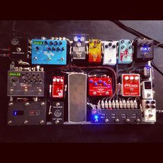 Jeffrey Kunde | GEAR Guitar Effects Pedals, Guitar Pedals, Guitar Pedal Board, Bethel Music, Music Aesthetic, Music Guitar, Music Stuff, Dream Life, Rigs