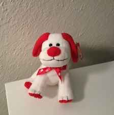 Plush Dog Valentines Day Ty Heartbeat Beanie Baby Puppy Love Retired Red Gift Original Beanie Babies, Great Valentines Day Gifts, Dinosaur Stuffed Animal, Stuffed Animals, Baby Puppies, Ty Beanie, Heartbeat, Puppy Love, Happy Holidays