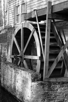 Water Wheel- I LOVE THIS!