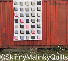 Cushion Cut Quilt Pattern Release | SkinnyMalinkyQuilts