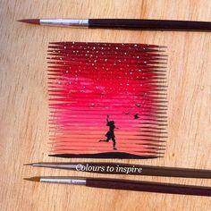 Resultado de imagen para painting with toothpicks