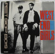 1985 PET SHOP BOYS West End Girls 1980s vinyl record sleeve 45 RPM single 7 inch cover picture | Flickr: Intercambio de fotos