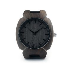 Natural Ebony Woo... - Great new product just listed on IsMENS website.  What do you think?  http://ismens.com/products/natural-ebony-wooden-mens-watch-irregular-shape-quartz-wristwatch?utm_campaign=social_autopilot&utm_source=pin&utm_medium=pin