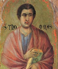 The Apostle Thomas, 1308-1311 - Duccio