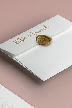 The ultimate luxe finish for your #Wedding #Stationery. #Wax #Seals are available in 30 colours and include a bespoke brass seal to match your invitations - Order yours today at: https://designbypye.com/product/customised-wax-seal/