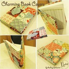 Tutorial funda llibre de patchwork!!