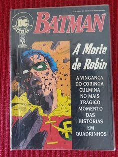 DC Especial nº 1. A Morte de Robin. Editora Abril. Nov/89.