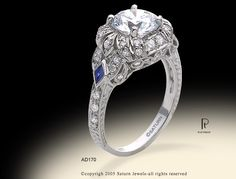 I had the brief pleasure of owning this ring.  It is stunning, to bad the engagement wasn't!