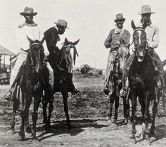 African American Cowboys | The first bronco-busting cowboy was a black man.