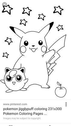 smiling pokemon coloring pages for kids printable free ms - Coloring Pics For Kids